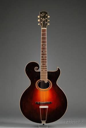 American Guitar Gibson MandolinGuitar Company Kalamazoo c 1920 Style O