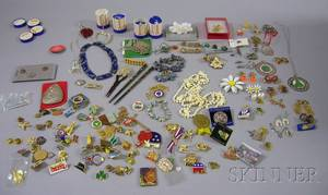 Large Group of Assorted Jewelry and Costume Jewelry