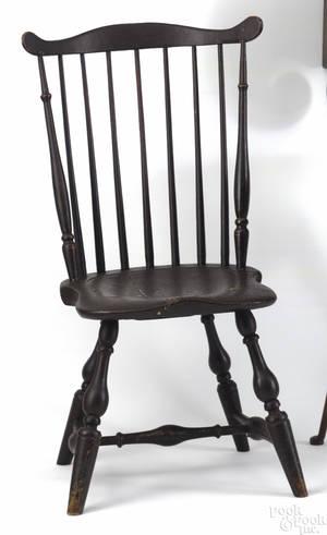 Pennsylvania fan back windsor side chair ca 1775