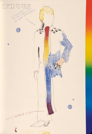 Jim Dine illustrator American b 1935 The Picture of Dorian Gray