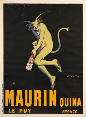 Leonetto Cappiello French 18751942 Maurin Quina