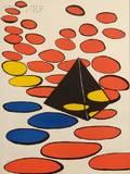 Alexander Calder American 18981976 Untitled Pyramid and Disks