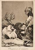 Jose Francisco de Goya y Lucientes Spanish 17461828 Lot of Three Plates from LOS CAPRICHOS