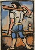 Georges Rouault French 18711958 Lot of Two Images Dors mon amour