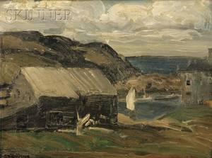 George Wesley Bellows American 18821925 Fresh Sky