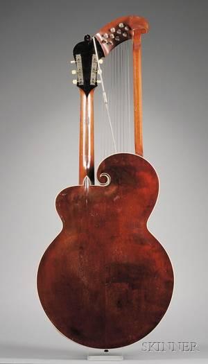 American Harp Guitar Gibson MandolinGuitar Company Kalamazoo c 1920 Style U