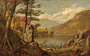Levi Wells Prentice American 18511935 View of the Adirondacks