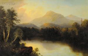 Alfred Thompson Bricher American 18371908 Mountain Landscape