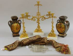 Six Late Victorian Decorative and Collectible Items