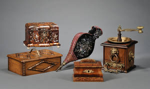 Five Assorted 19th Century Decorative Items