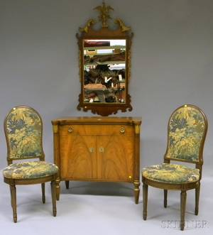 Four Pieces of Europeanstyle Furniture