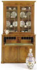 Regency mahogany secretary bookcase ca 1820