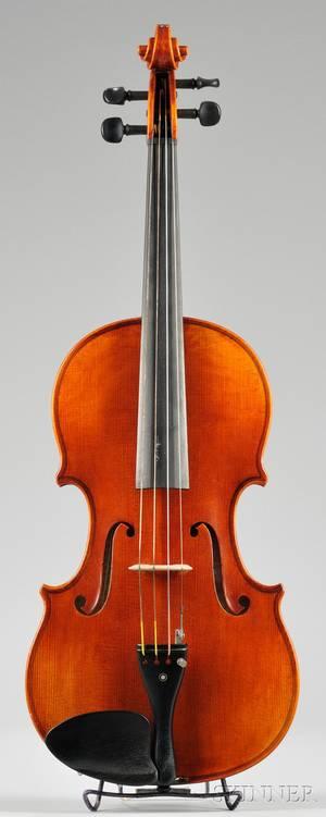 Modern Viola Roman Teller Erlangen 1972