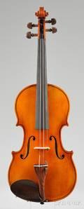 Modern Violin Arthur Teller Erlangen 1978