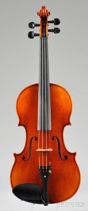 Modern Violin Roman Teller Erlangen 1972