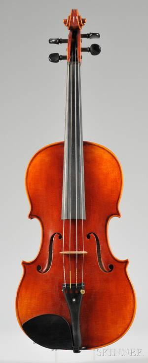 Modern Viola Roman Teller Erlangen 1971