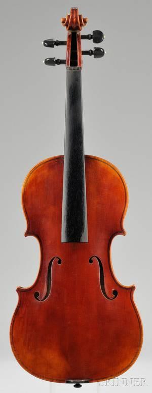 Modern German Violin Wenzel Fuchs Erlangen c 1970