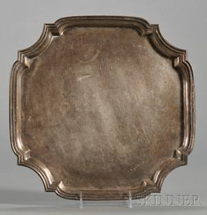Tiffany  Co Sterling Presentation Salver