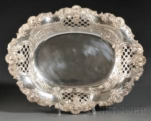 Tiffany  Co Sterling Bread Tray