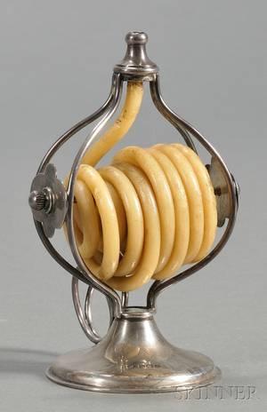 Edward VII Silver Wax Jack