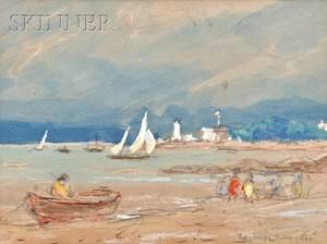 Reynolds Beal American 18671951 Picnic at Wingaersheek Beach