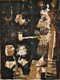 Antoni Clav Spanish 19132005 King with Pipe