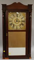 Mahogany Shelf Clock by Boardman and Wells