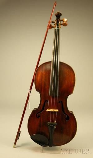 Viola probably German c 1860