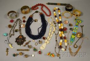 Group of Costume and Ethnic Jewelry