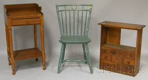Three Pieces of Small 19th Century Furniture