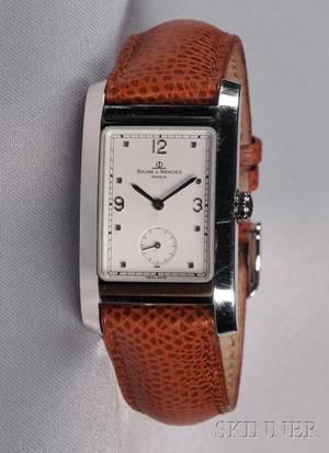 Stainless Steel Wristwatch Baume  Mercier