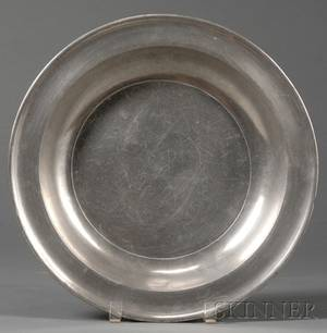 Samuel Danforth Pewter Deep Dish