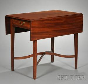 Federal Mahogany Pembroke Table