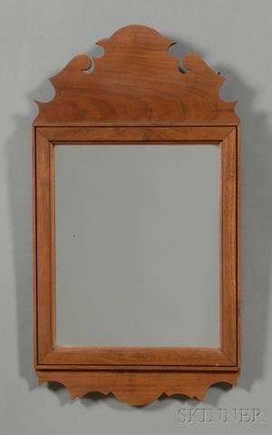 Queen Annestyle Walnut Mirror
