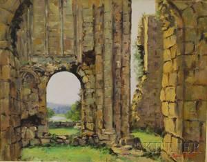 Ernest Knight British 19151995 Bolton Abbey Yorkshire