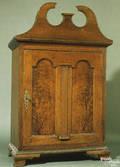 Rare Chester County Pennslyvania Queen Anne walnut spice chest ca 1770
