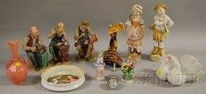 Twelve Assorted Ceramic Figural and Collectible Items