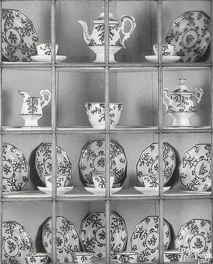 Gaudy Ironstone tea service ca 1840