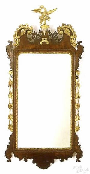 American or English Chippendale mirror ca 1770
