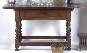 Pennsylvania walnut tavern table ca 1760