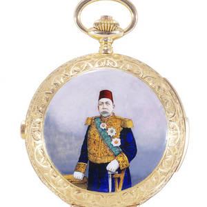 Portrait of Muhammad V  MinuteRepeating  Chronograph F