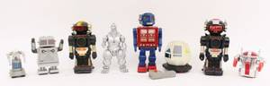 Group of Eight Robots 1970s and Later