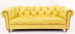Mise en Scene by Ruffian Large Yellow Sofa