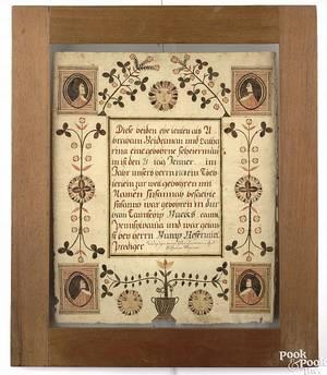 John Van MinianSoutheastern Pennsylvania active 18051842