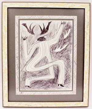 Steven Red Mud Chandler Drawing