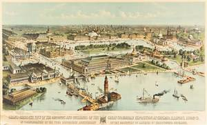 COLUMBIAN EXPOSITION CURRIER  IVES after