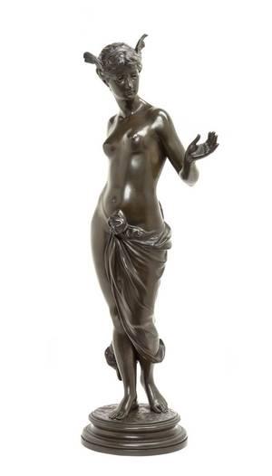 A German Bronze Figure