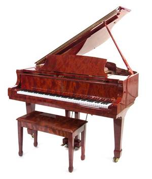 A Pramberger Baby Grand Piano