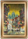 Continental School Parisian Night Life Signed