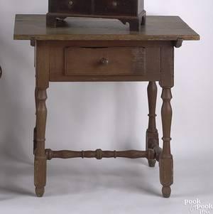 Pennsylvania painted poplar tavern table ca 1760